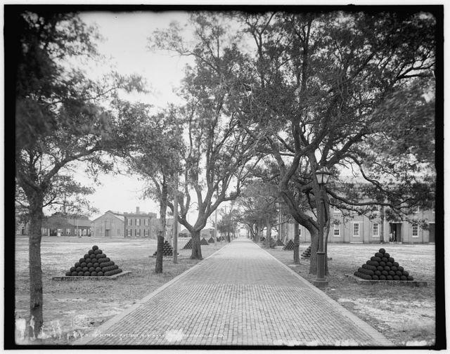 Central Avenue, U.S. Navy Yard, Pensacola, Fla.