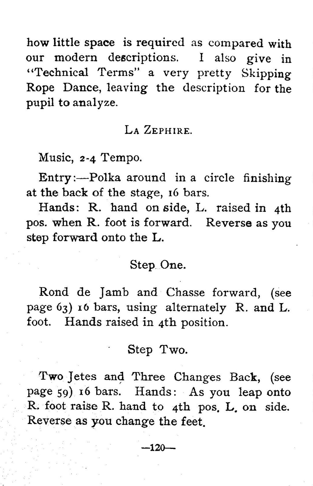 Clendenen's treatise on elementary and classical dancing