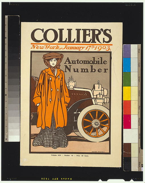 Colliers. Automobile Number / Edward Penfield.