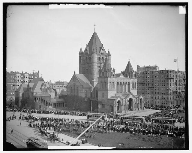 Copley Square, Boston, Mass.