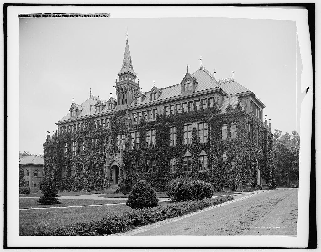 Dickinson Hall, Princeton University, N.J.