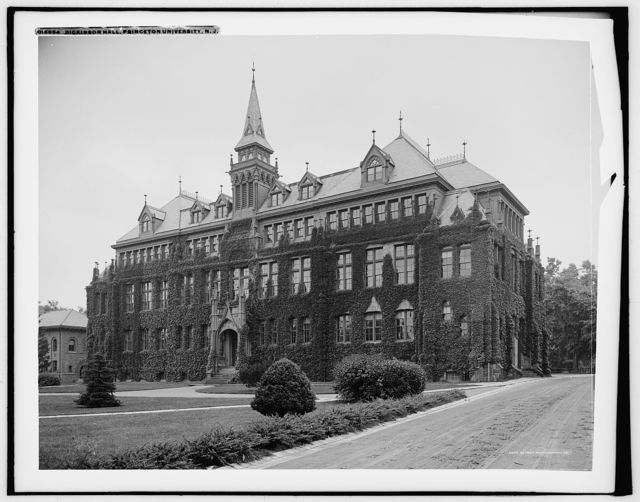 Dickinson Hall, Princeton University, N.J.