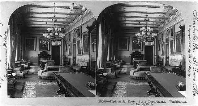 Diplomatic room, State Department, Wash., D.C.