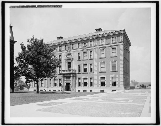 Engineering Building, Columbia University, N.Y.