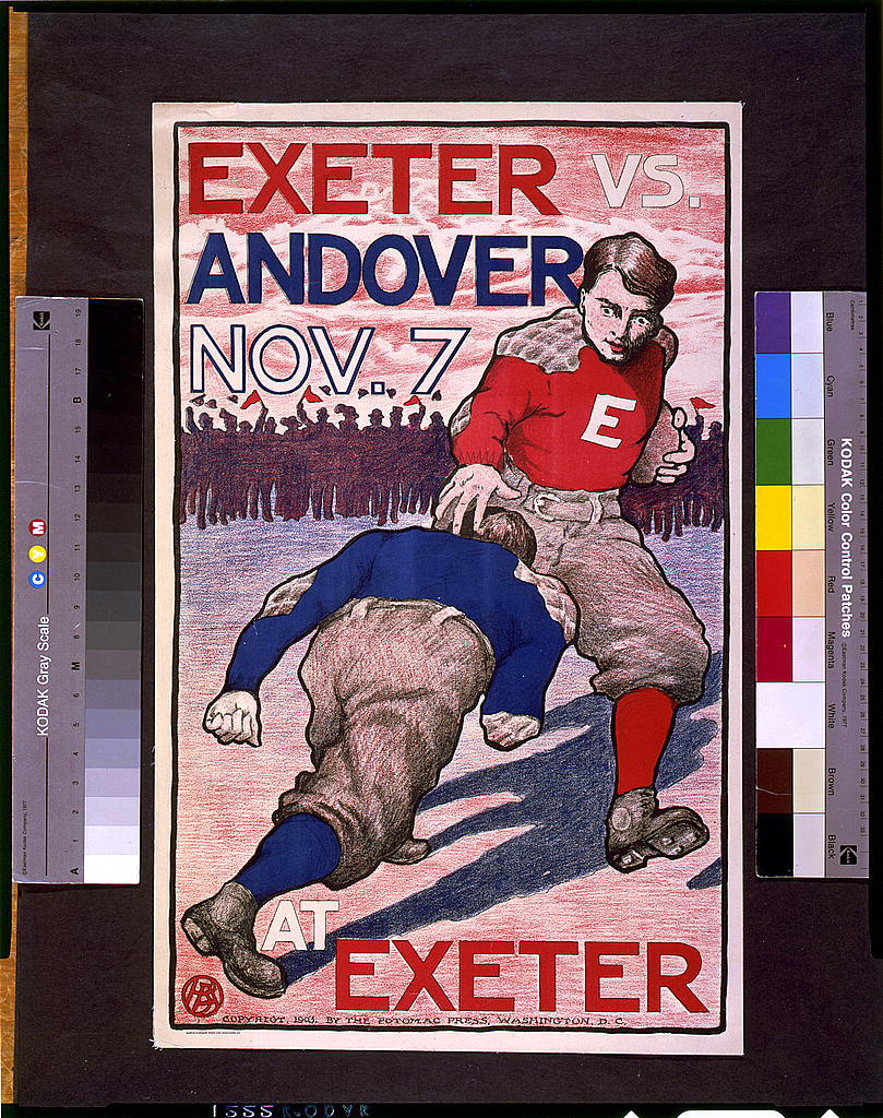 Exeter vs. Andover, Nov. 7 at Exeter / B.A.