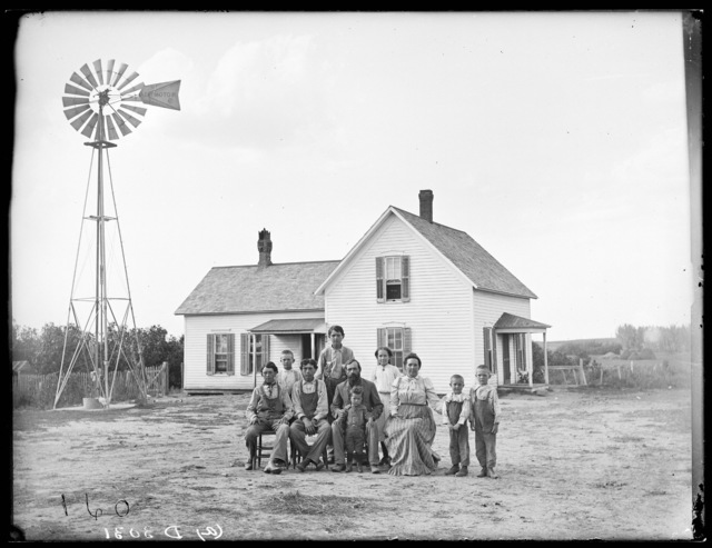 Farm of J.J. Wagoner, Amherst, Nebraska.