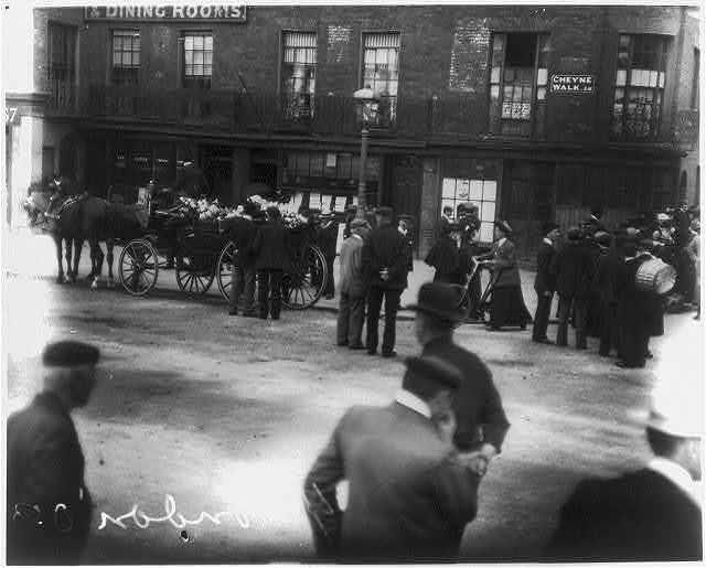 [Funeral of James Abbott McNeill Whistler in Chelsea, London, July 1903]