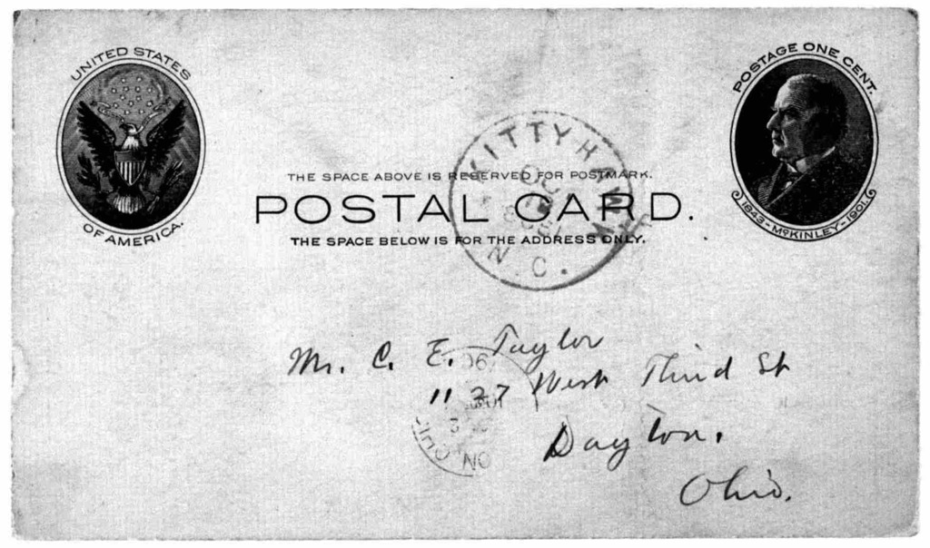 General Correspondence:  Taylor, Charles E., 1903-1914