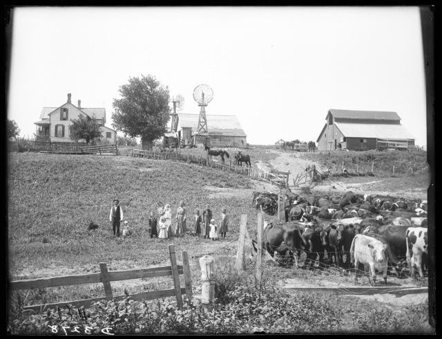 Gotleb Scherhing farm, Riverdale, Nebraska.