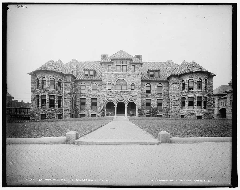 Goucher Hall, Woman's College, Baltimore, Md.