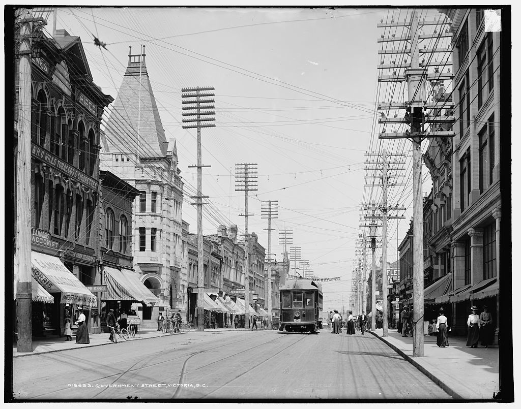 Government Street, Victoria, B.C.