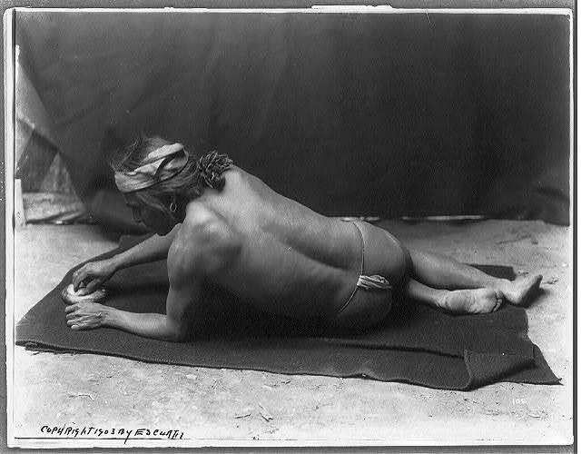 Grinding medicine--Zuni