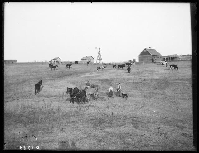 Harry Lockhart, Miller or Sargent Valley, Buffalo County, Nebraska.