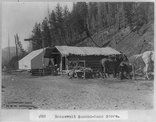 """[Idaho - Roosevelt: """"Roosevelt second-hand store""""]"""