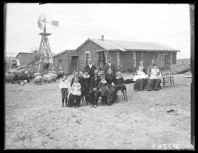 J.B. Hartson, Genet Post Office, Custer County, Nebraska.
