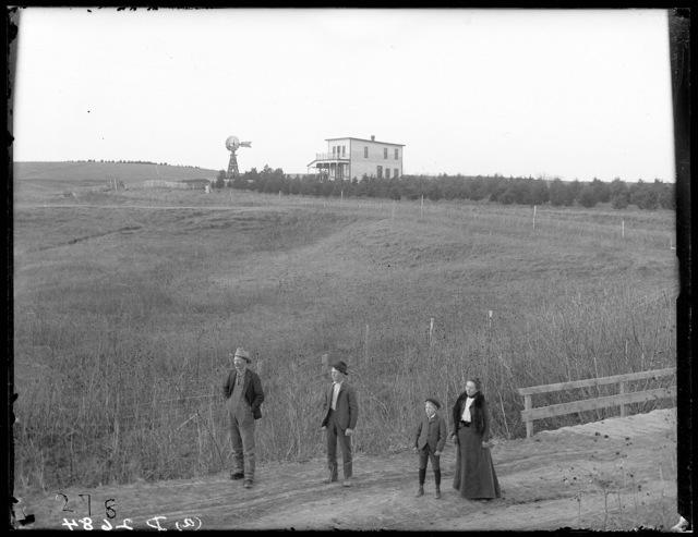J.H. Robison ranch near Lomax, Nebraska