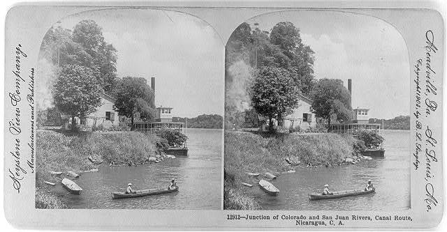 Junction of Colorado and San Juan Rivers, Canal Route, Nicaragua, C.A.