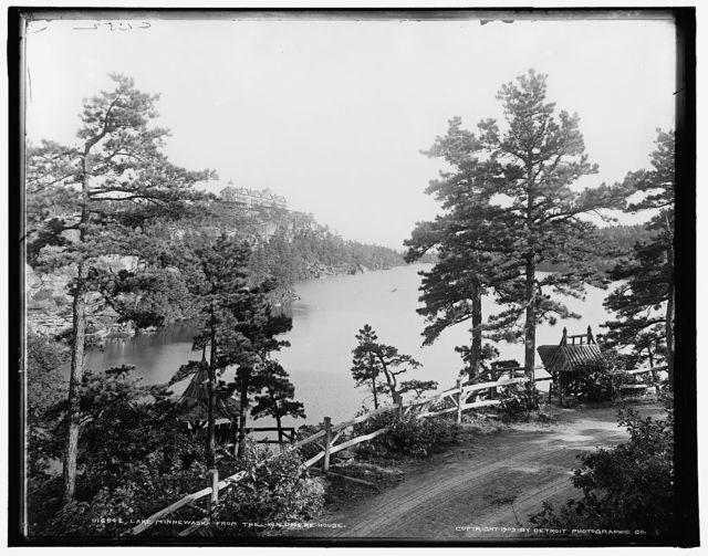 Lake Minnewaska from the Wildmere House