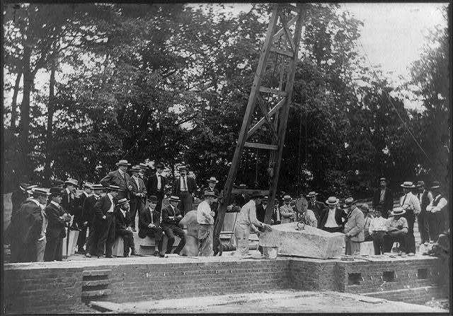 Laying of cornerstone of new Physical Laboratory, Bureau of Standards, Washington, D.C.