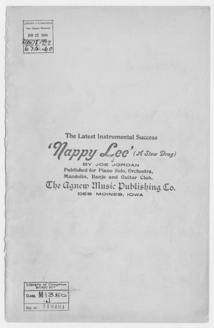 Nappy Lee (A Slow Drag)