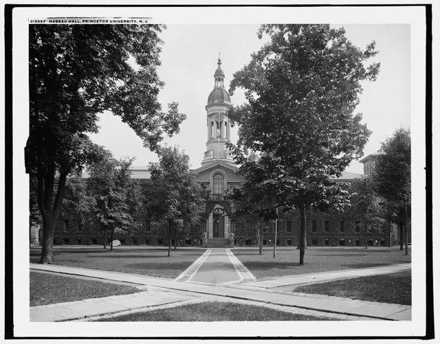 Nassau Hall, Princeton University, N.J.