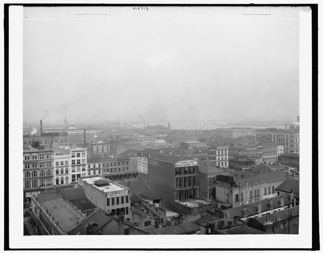 [New Orleans from Hennen Building, La.]