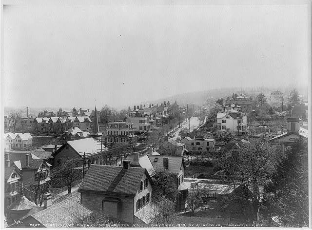 [N.Y. - Stapleton - panoramic view of part of residence district]