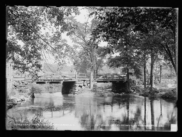 Oak Street bridge, Mt. Vernon, N.Y.