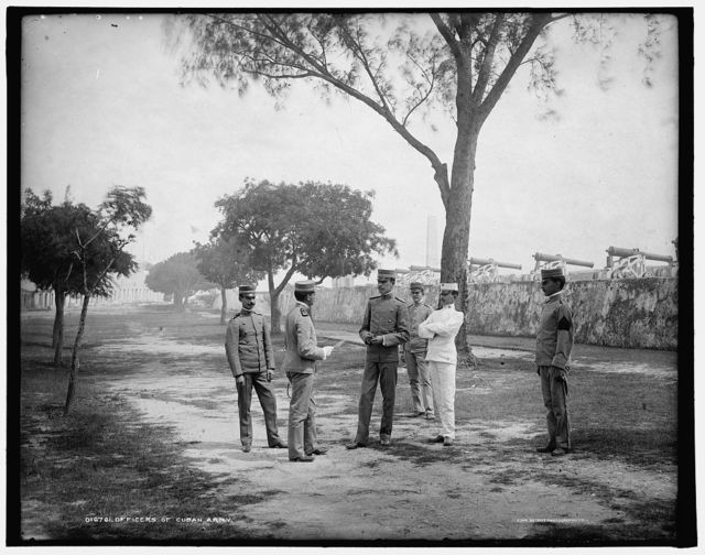 Officers of Cuban army