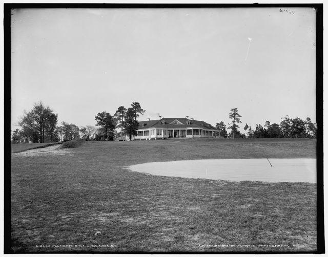 Palmetto golf links, Aiken, S.C.