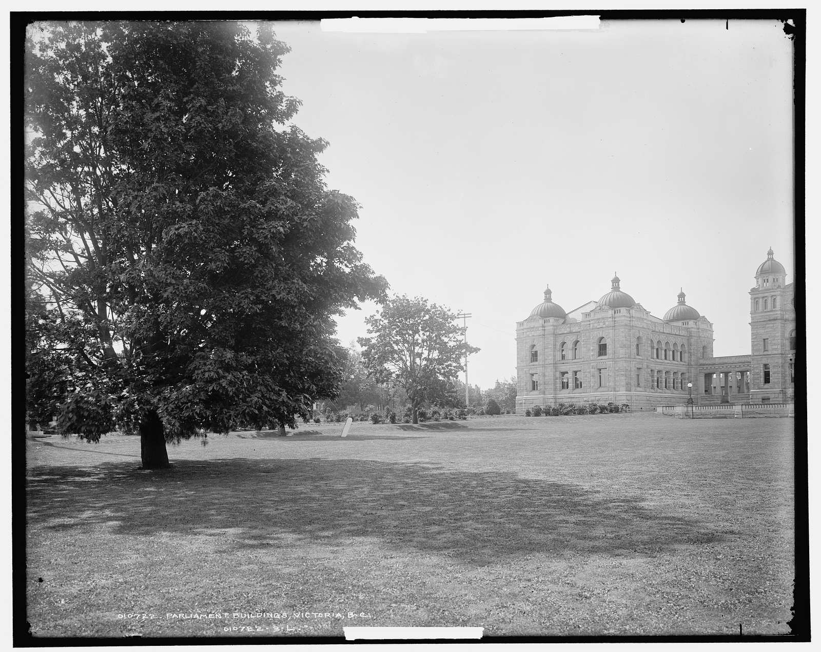 Parliament buildings, Victoria, B.C