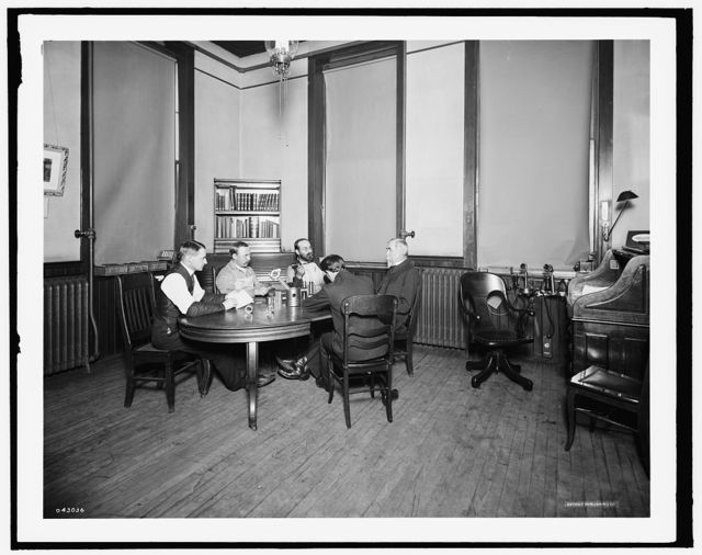 [Private office, Leland & Faulconer Manufacturing Co., Detroit, Mich.]