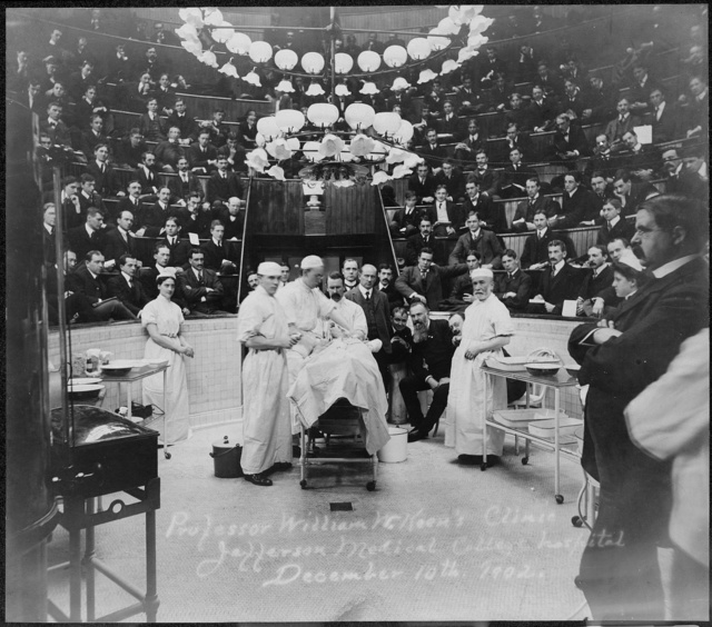 Professor William W. Keen's Clinic, Jefferson Medical College Hospital, December 10th, 1902 (S)