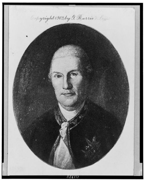 [Rochambeau, Commander of the French Allies, head-and-shoulders portrait, facing front]