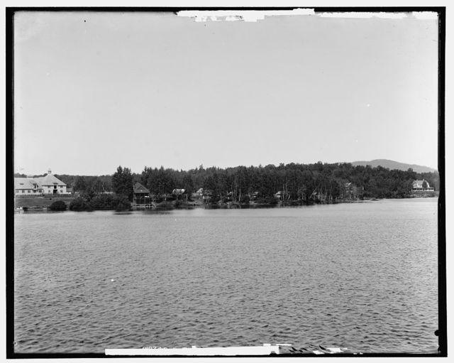 Saranac Inn, Upper Saranac Lake, Adirondack Mountains