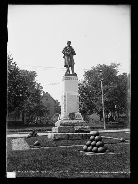 Soldiers' Monument, Mt. Vernon, N.Y.