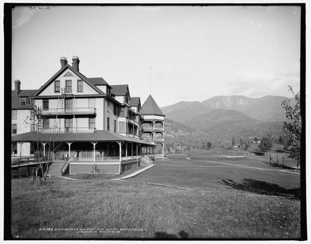 St. Hubert's Inn and the Giant, Keene Valley, Adirondack Mountains