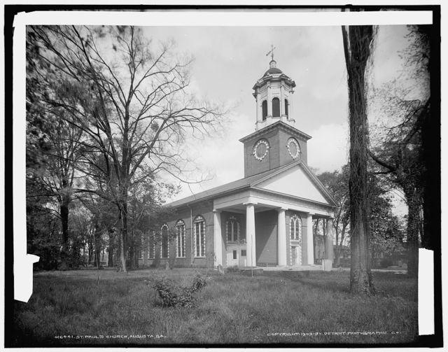 St. Paul's Church, Augusta, Ga.