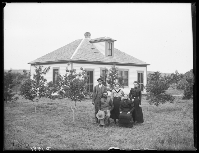 Stephen Bader farm, Milburn, Custer County, Nebraska.