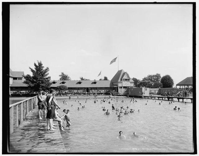 Swimming pool, Belle Isle