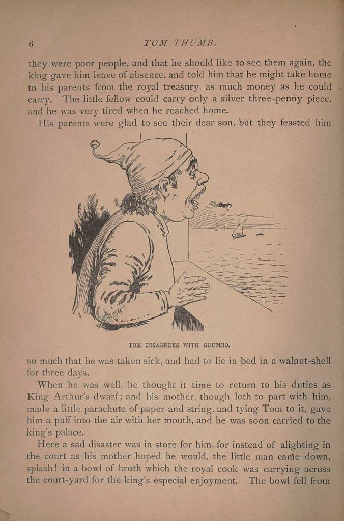 The adventures of Tom Thumb and other stories..