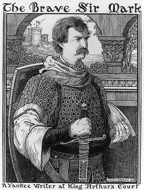 The Brave Sir Mark, A Yankee writer at King Arthur's Court