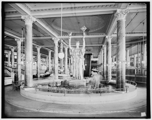 The Fountain, Seigel [i.e. Siegel] Cooper Co. Store, New York