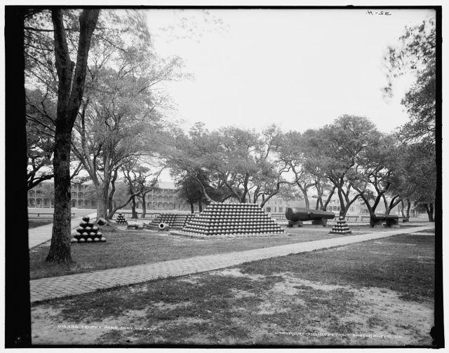 Trophy Park, Fort Monroe, Va.