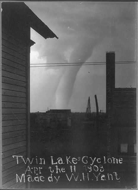 Twin Lakes cyclone, Apr. 11, 1903