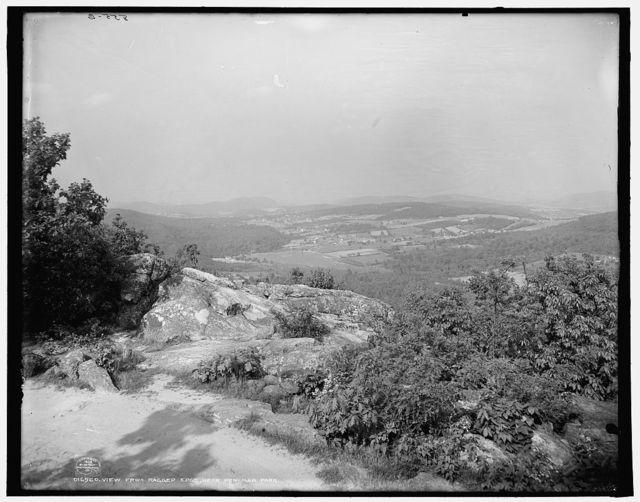View from Ragged Edge near Pen-Mar Park