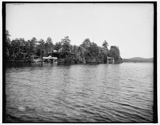 Whitelaw Reid's Camp [Wild Air] in the Adirondacks
