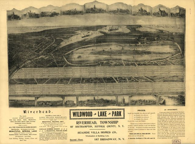 Wildwood Lake Park, Riverhead, Township of Southhampton, Suffolk County, N.Y.