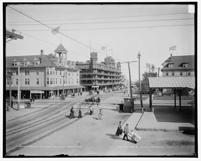 Alberta and Velvet hotels, Old Orchard, Me.