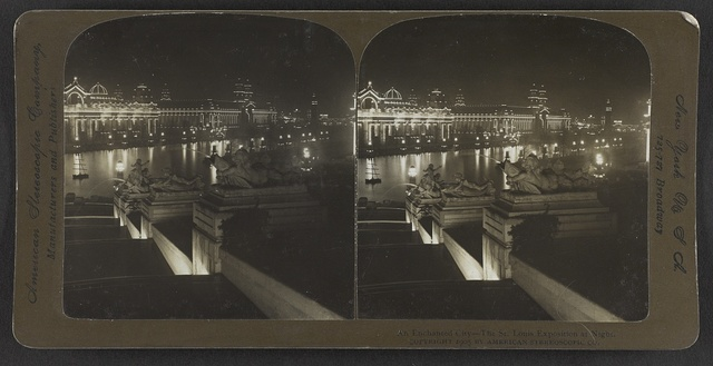 An enchanted city, The St. Louis Exposition at night